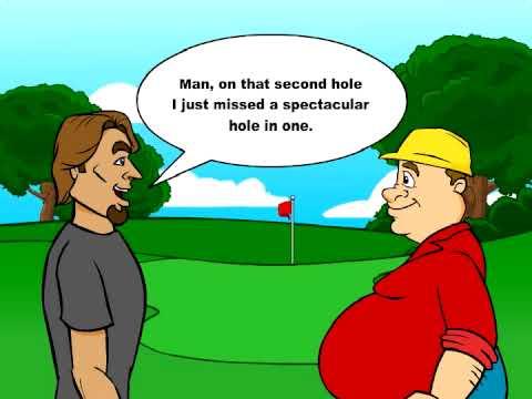 golf jokes hole tell buzz