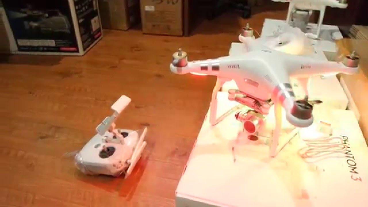 Cara Update Firmware Pesawat/Aircraft/Drone DJI Phantom 3 Advanced