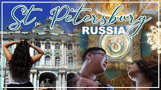 SAINT PETERSBURG, RUSSIA during the FIFA WORLD CUP 2018 | SIGHTSEEING VLOG