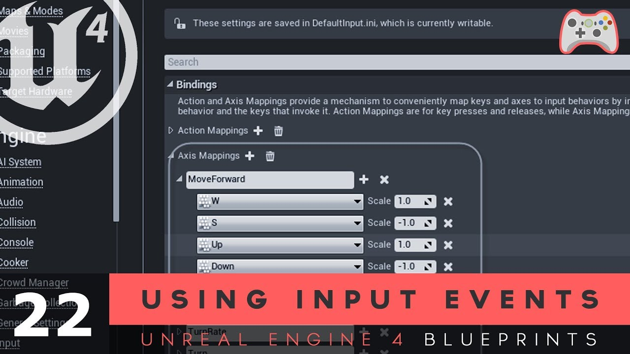 Using input events 22 unreal engine 4 blueprints tutorial series using input events 22 unreal engine 4 blueprints tutorial series malvernweather Gallery