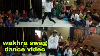 Wakhra swag / dance /choreographer/ ram sikarwar/.by Rock zone dance studio