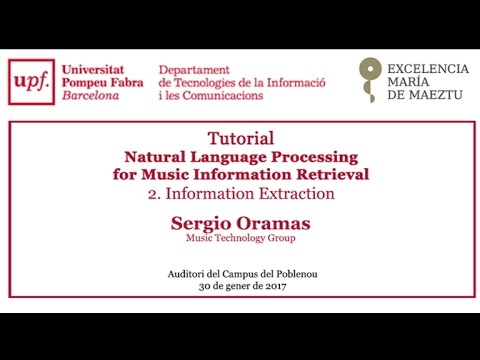Tutorial - Natural Language Processing for Music Information Retrieval. Information Extraction