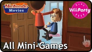 Wii Party - All Mini-Games (2 players, Master Difficulty)