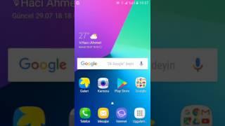 Samsung Klavye Ayarlari