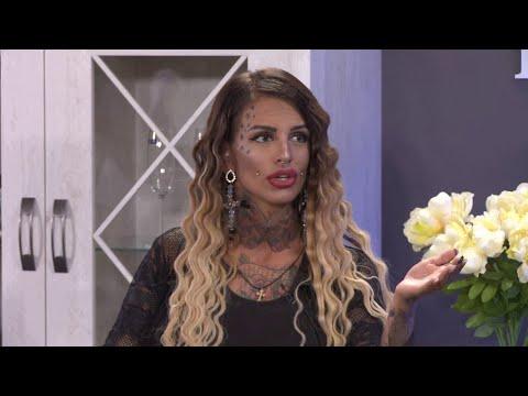 Jelena Krunic pokazuje nove tetovaze i pirsinge - Ami G Show S09