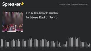 In Store Radio Demo
