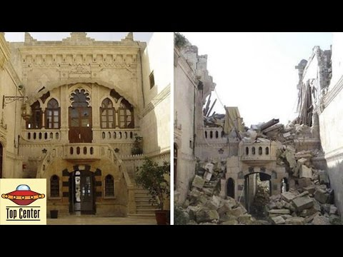 Syria before and after war pictures