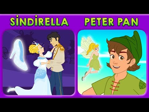 2 Masal | Sindirella + Peter Pan Masalları | Adisebaba Masal