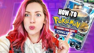 How To Play Pokémon Tcg Online!