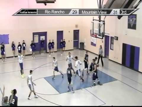 RRPS Athletics: 2012-2013 Mountain View Middle School Boys Basketball Season Highlights