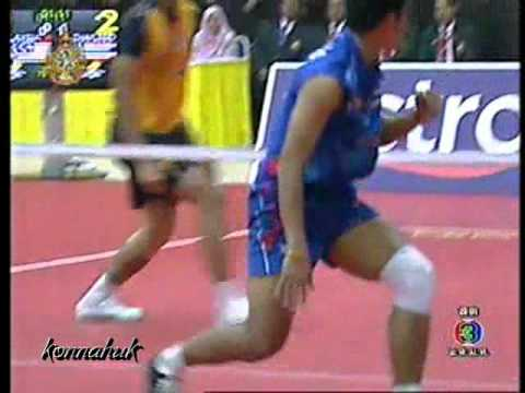Thailand Vs Malaysia'' Final ''2011 Sepak Takraw World Cup Part 3