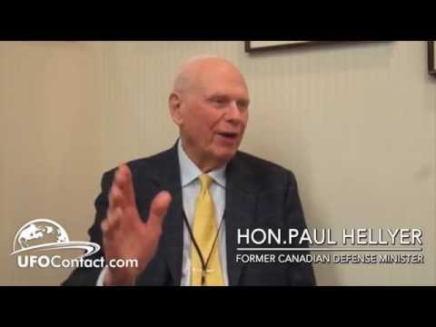 Former CDN Minister of Defence Paul Hellyer: UFOs, Global Warming, Free Energy and the Money Cartel