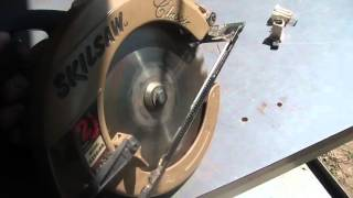 Replacing brushes in a Skilsaw, $15 brings a dead saw back to life,