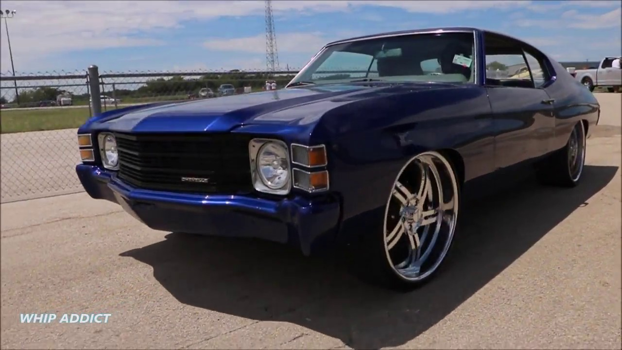 All Chevy 71 chevrolet : WhipAddict: 71' Chevrolet Chevelle SS on Billet 24s with Letter ...