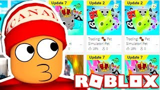 THE WORST COPIES OF PET SIMULATOR → THE ROBLOX'S COPY HUNTER!! 🎮