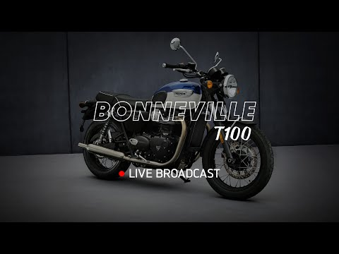 New Bonneville T100 -  Reveal