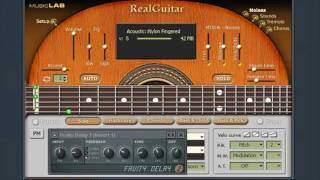 Roberta Flack - Killing me softly with his song, made with FL Studio and plugins.