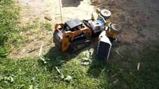 RC Radlader  Wheel Loader  VS. RC Bobcat Track Loader Huglfing