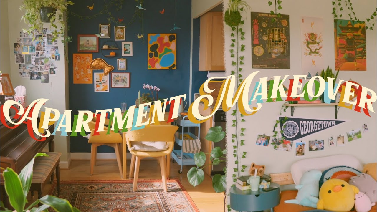 Download APARTMENT MAKEOVER + TOUR // moving into my first apartment at 18