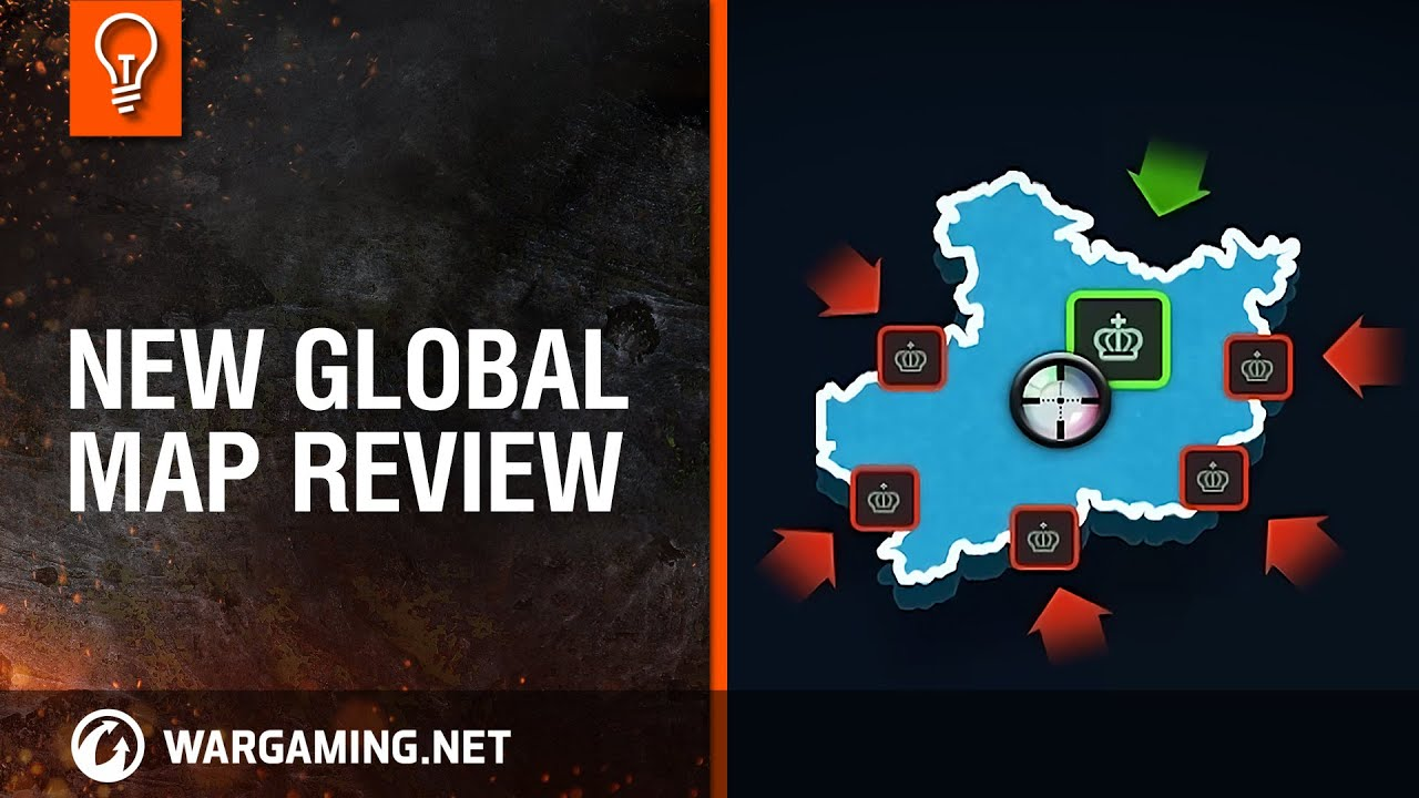 New Global map review [World of Tanks] - YouTube