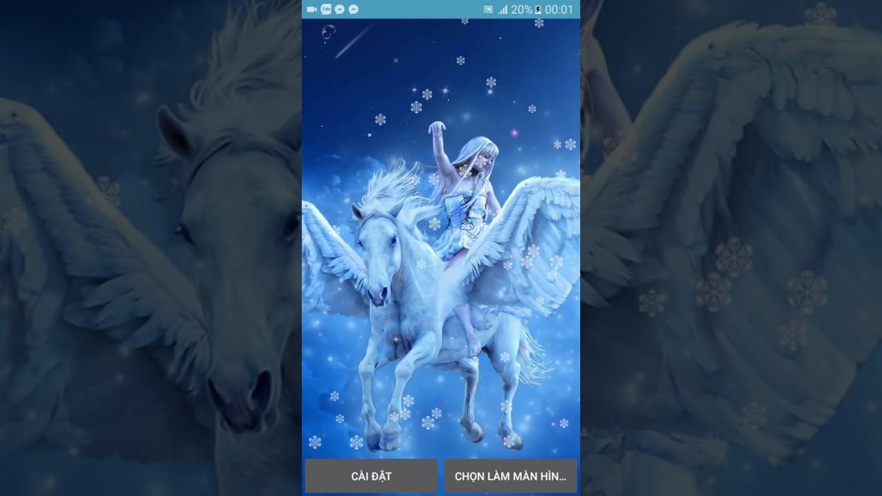 Magic Unicorn Live Wallpaper