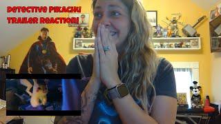 POKÉMON Detective Pikachu   Official Trailer #1 REACTION!