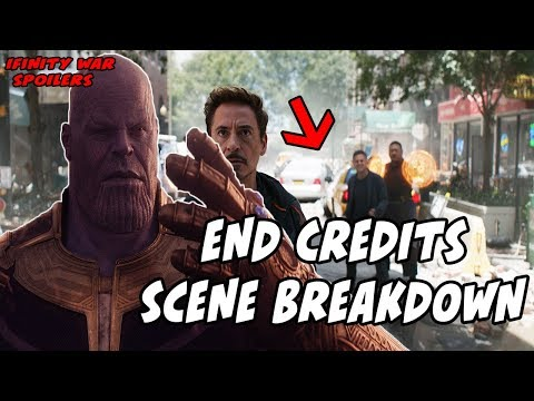 END CREDITS EXPLAINED! Avengers Infinity War (BREAKDOWN)