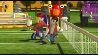Трактор Том - Кто-нибудь желает в теннис? (сезон 1 серия 21)