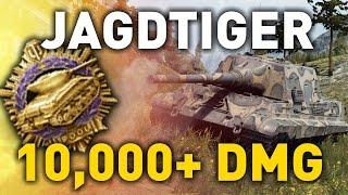 World of Tanks || Jagdtiger - 12 Kills - 10,000 DMG...
