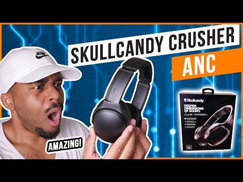 New Skullcandy Crusher ANC Headphones!Unboxing and Review!