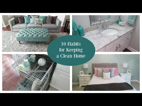 Habits For Keeping Clean House