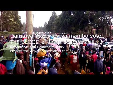 Download DAMU YA YESU ILIYOMWAGIKA, YAWEZA MAMBO YOTE- The Blood of Jesus that was shed!
