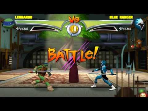 TEENAGE MUTANT NINJA TURTLES NICKGAMER: TMNT VS. POWER RANGERS