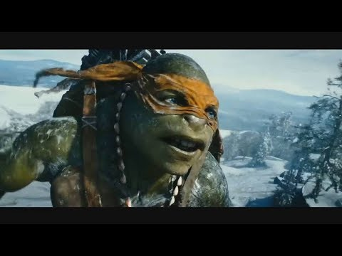 Teenage Mutant Ninja Turtles 2014 Hindi Snow Mountain Shortcut Scene    (07)