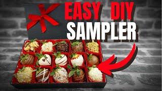 SAMPLER GIFT BOX - CHOCOLATE STRAWBERRIES