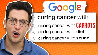 Curing Cancer with...Carrots | Doctor vs. Google