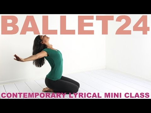 Ballet Workout: Contemporary Lyrical Class