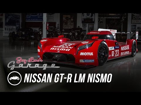 Watch Jay Leno Geek Out Over Nissan's GT-R LM NISMO