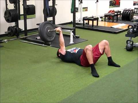 Landmine 1 arm floor press youtube for Floor workout