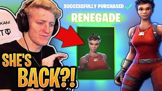 Tfue BUYS His *OG* Renegade Skin BACK From the Item Shop! (SEASON 1 SKIN) - Fortnite Moments