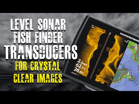 How To Level a Fish Finder Transducer (For Better Images) Humminbird Helix G2N