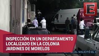 Catean domicilio vinculado a pareja feminicida de Ecatepec