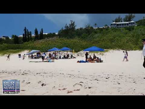 Cup Match At Horseshoe Bay Beach, July 30 2020