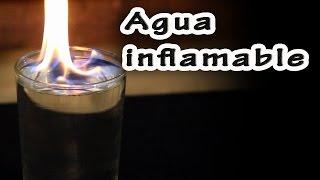 El misterio del agua inflamable │ Ciencia mágica  │ Experimento Fácil