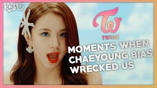 Video TWICE CHAEYOUNG - MOMENTS WHEN SHE BIAS WRECKED US download MP3, 3GP, MP4, WEBM, AVI, FLV Januari 2018