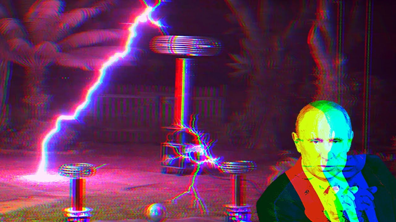 WIDE PUTIN meets TESLA COIL Trio (Song for Denise)