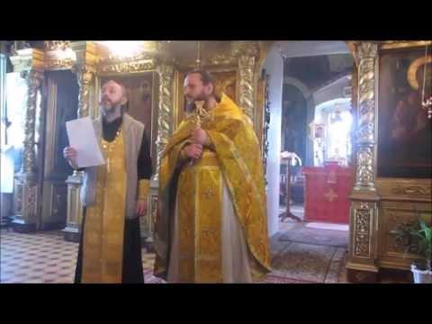 РАСПИСАНИЕ БОГОСЛУЖЕНИЙ на 7-ю неделю по Пасхе