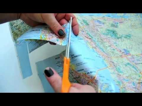39 Creative Old Map Craft Ideas | FeltMagnet
