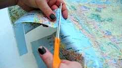 How to Make an iPhone Case Out of an Old Map