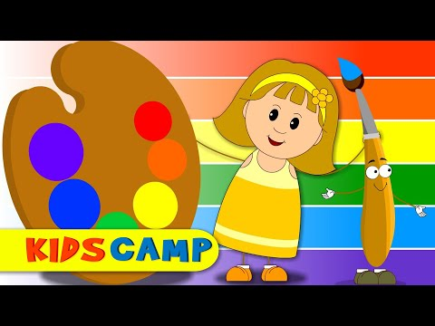 Colors Song | ABC Songs for Children | Nursery Rhymes | 30 Minutes Compilation from Kidscamp